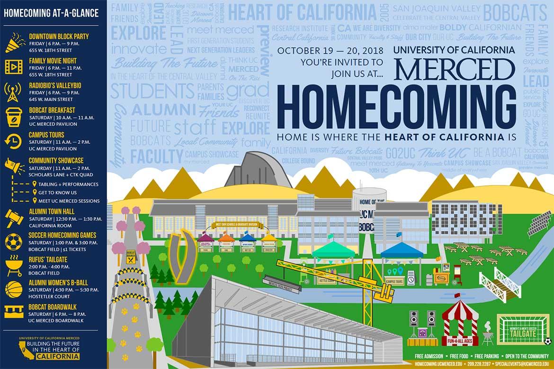 UC Merced Homecoming 2018